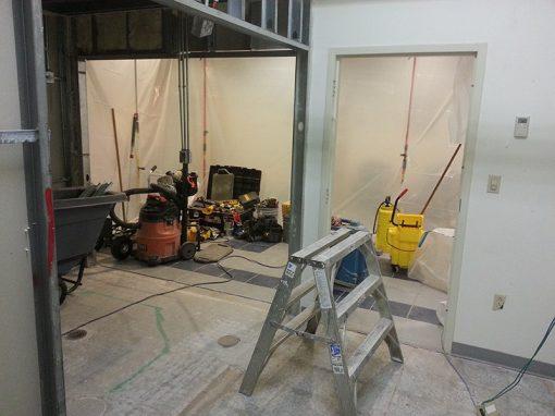 Marine Reserve Facility Lafayette Locker Room Renovation