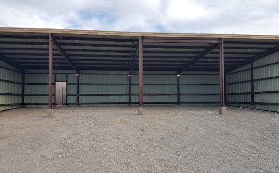 Oolagah Lake – Metal Storage Build