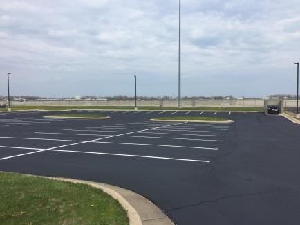 Selfridge ANGB Border Patrol – Parking Lot Reseal and Restripe