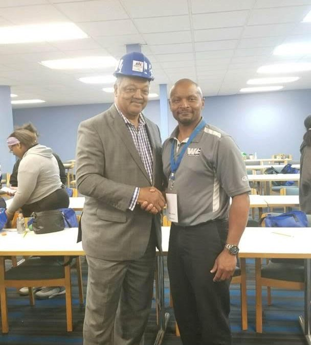 W4 Construction Group participates in Careers in Construction Youth Day in Detroit