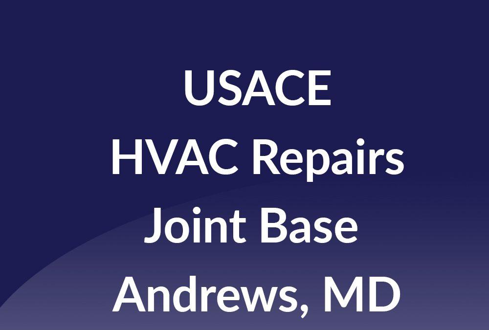Joint Base Andrews HVAC Repairs