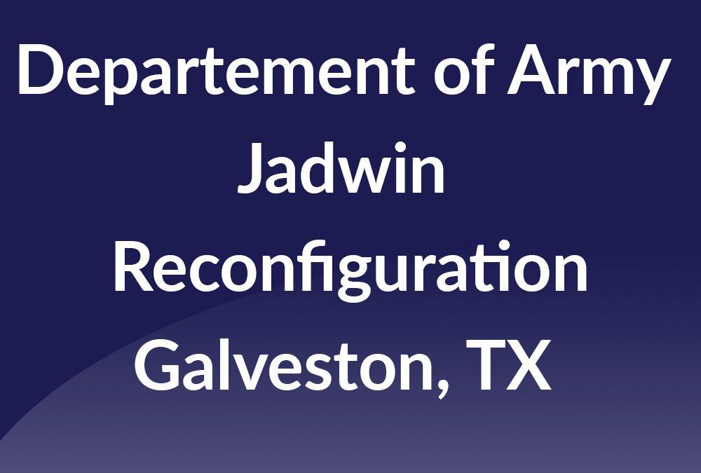 Jadwin Reconfiguration