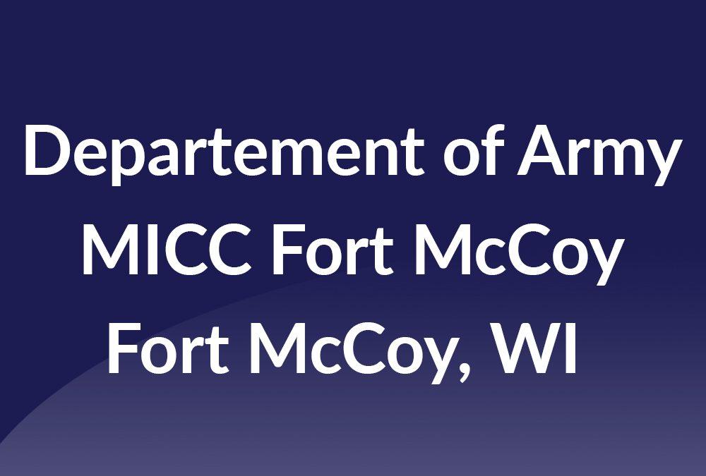 MICC Fort McCoy