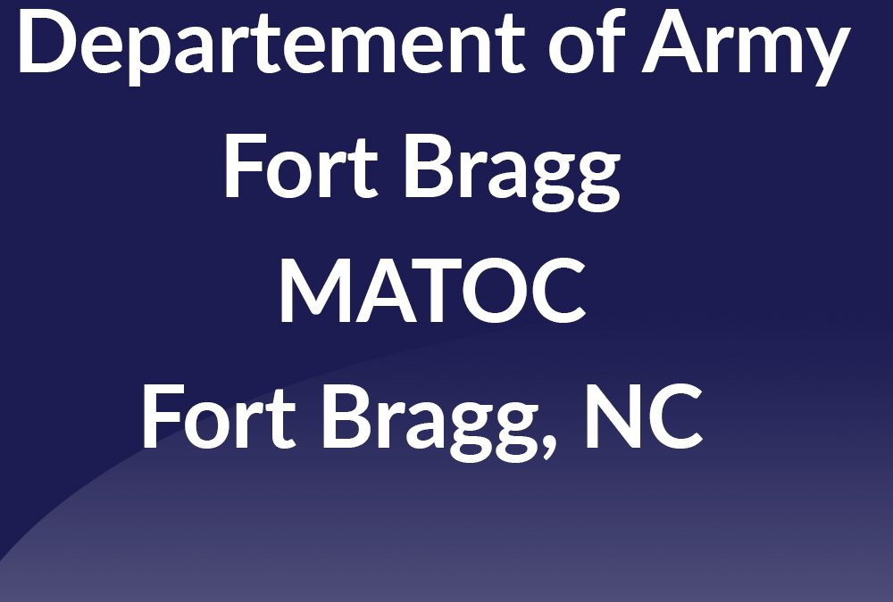 Fort Bragg MATOC