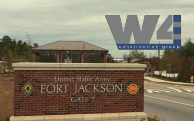 W4 Construction Group wins a 5 year/$140 Million MATOC at Fort Jackson, South Carolina